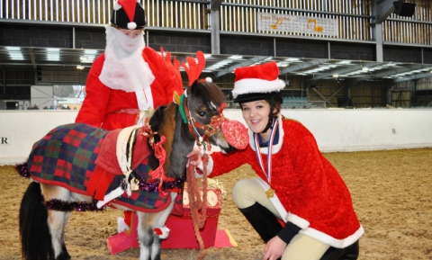 Nantwich equine students stage Christmas show at Reaseheath