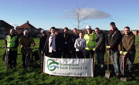 Leighton Greenway project team