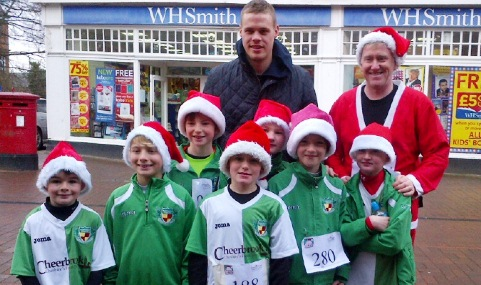 Young Nantwich Town players scoop trophy and charity double