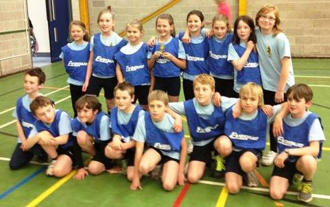 Pear Tree School's winning team