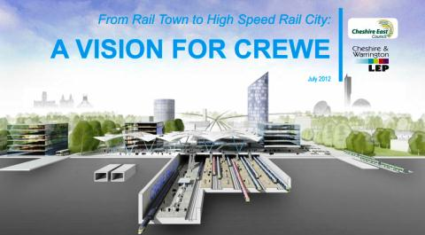 HS2 railway conference staged in South Cheshire as Chancellor visits Crewe
