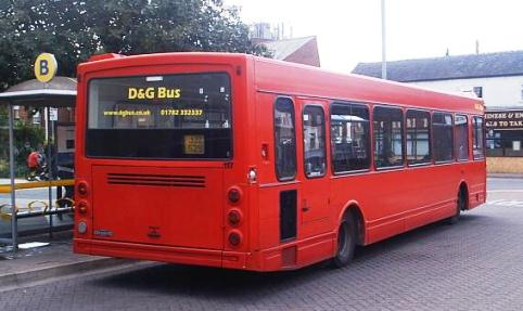 Nantwich bus service run by D&G