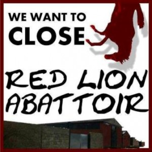 Red Lion Abattoir campaign poster