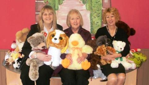 Sainsbury's and Richmond Village donate cuddly toys to Wingate Centre