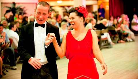 St Luke's Hospice Strictly Learn to Dance (Pic by Helen Cotton Photography)
