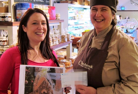 Nantwich farm shop Cheerbrook's £400 cake for Alzheimer's Society