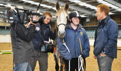 Reaseheath College horse team feature on BBC's Countryfile