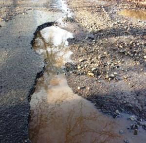 pothole 2, Den Lane