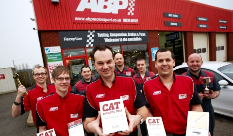 Shavington ABP Motorsport scoops national award for 4th year