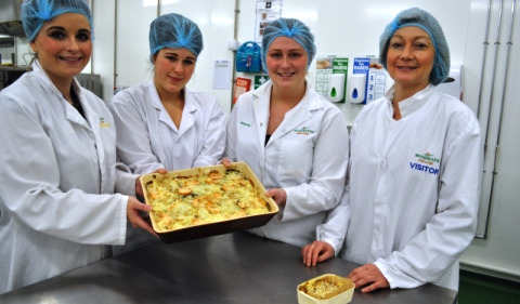 Nantwich college students wow M&S bosses with new dishes