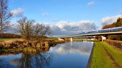Government's early HS2 plan for South Cheshire welcomed