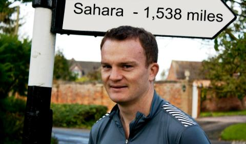 "Nantwich man tackles 156-mile ""Marathon Des Sables"" for Mencap"