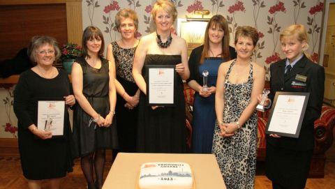 Beth Tweddle among winners in Crewe & Nantwich Community Awards