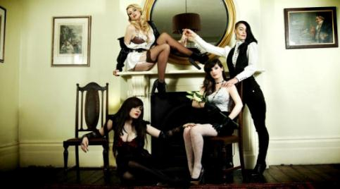 Nantwich girl to perform with controversial band The Courtesans
