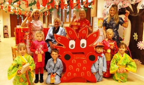 Wistaston pupils celebrate Chinese New Year in style