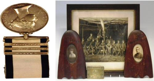 Battle of Trafalgar medal to sell for £16,000 at Nantwich auction