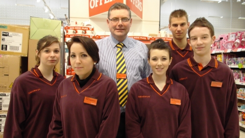 Nantwich Sainsbury's take on French students on exchange