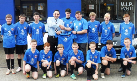 Cheshire Blades FC earns sponsorship with Crewe Gateway