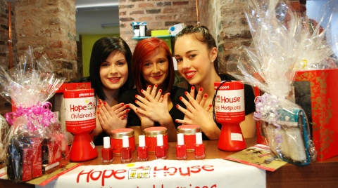 Nantwich beauty salon signs up to Hope House Hospice challenge