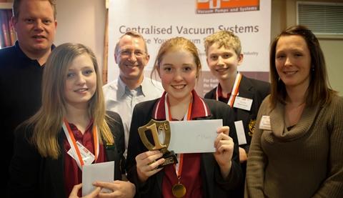 "Malbank School in Nantwich scoops ""Dragon's Den"" food contest trophy"