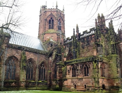 Nantwich St Mary's Church, Minster status