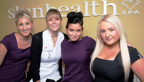 Nantwich based Skin Health Spa wins national employer award