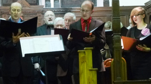 Villagers enjoy The Wistaston Singers church concert