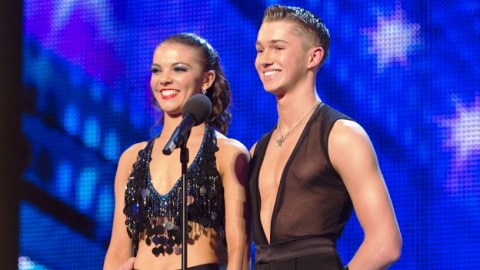 AJ and Chloe on Britain's Got Talent