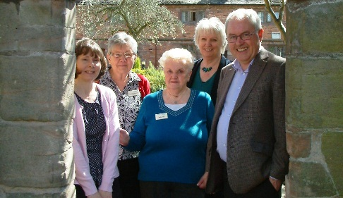 Nantwich Rotary Club grant boosts Alzheimer's Society in Cheshire East