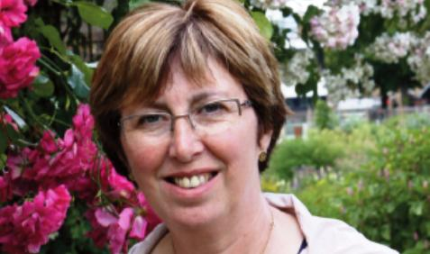 Beanstalk Cheshire volunteer Barbara Garside