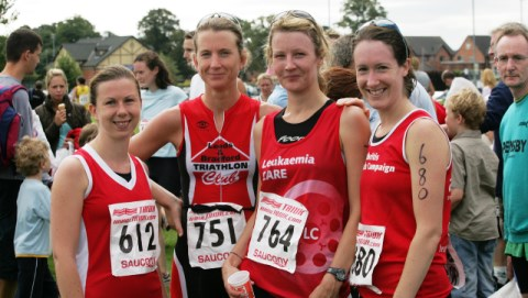 Nantwich Triathlon charity team