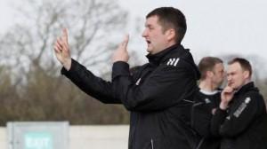 Darren Moss, Nantwich Town caretaker boss