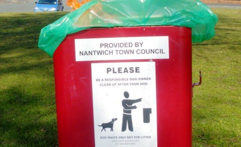 Nantwich Litter Group issues dog mess appeal to pet owners