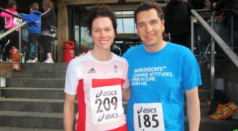MP Timpson and wife swap London Marathon for Nantwich Triathlon