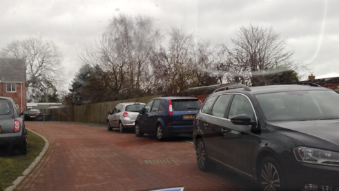 Police warn Nantwich villagers their cars could be towed away