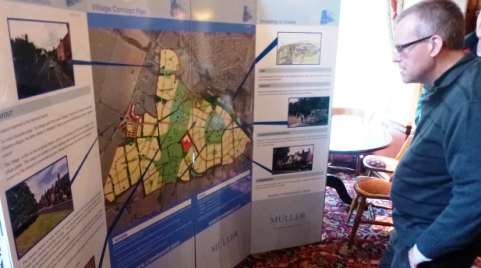 Wistaston residents view Muller Property housing exhibition
