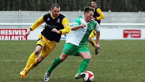 Nantwich Town beat Witton Albion 2-1 for first 2013 home win