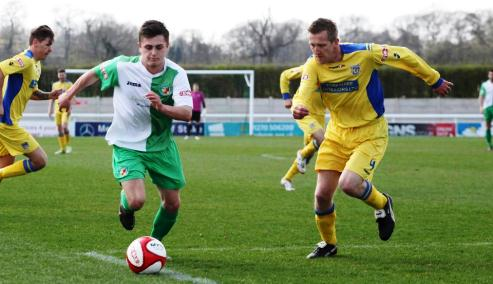 Nantwich Town v Frickley Athletic2
