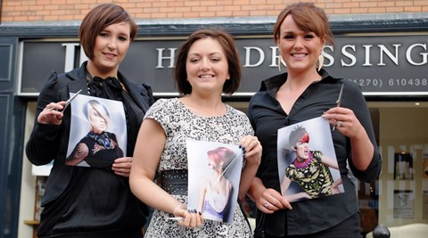 Nantwich TPL hairstylist makes regional Wella Trend Vision awards