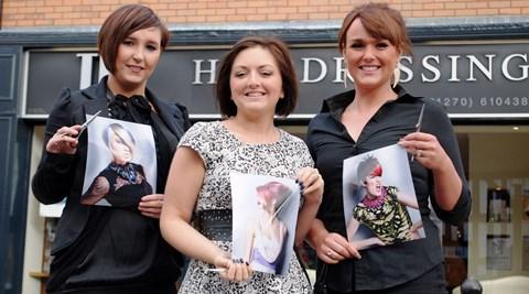 Nantwich TPL hairstylist makes regional Wella Trend Vision awards