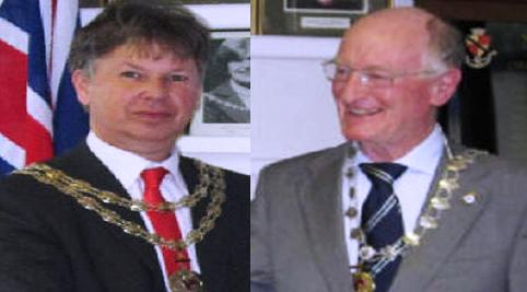 New Mayor of Nantwich Cllr John Lewis sworn in to office