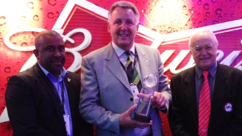 Nantwich Town honoured at Fair Play Awards at Wembley