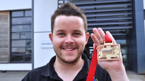 Nantwich college worker's London Marathon fundraiser for NWAA
