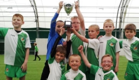 Nantwich Town Lasers win dramatic under 9s final at Crewe Alex