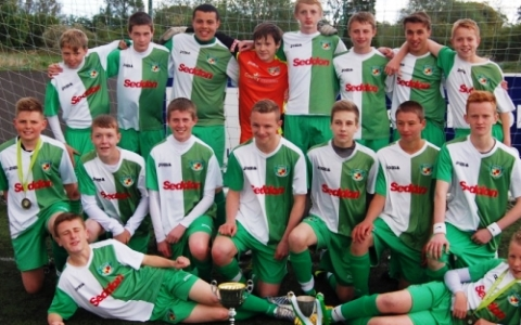 Nantwich Town Under 15s scoop league and cup double