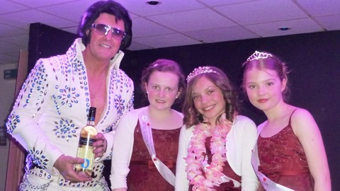 Elvis star Paul Larcombe stages Willaston show for hospital appeal