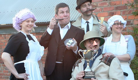 "Review: Nantwich Players perform award-winning ""Whodidit?"""