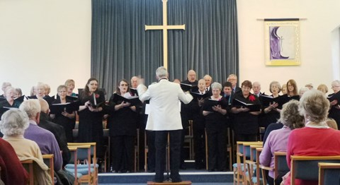 The Wistaston Singers perform concert at packed Bakewell venue