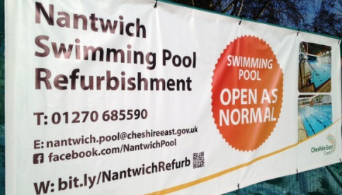 Nantwich outdoor brine pool set for summer opening