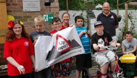 Specialist tricycle donated to Cheshire Buddies youngsters in Shavington